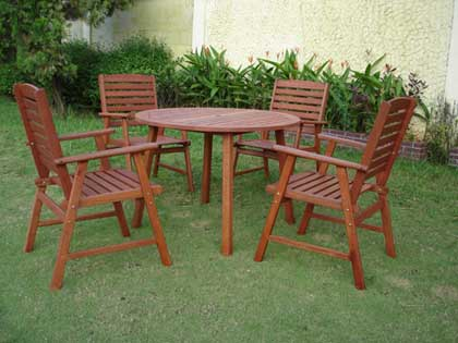 Outdoor Wood Furniture For A Lifetime